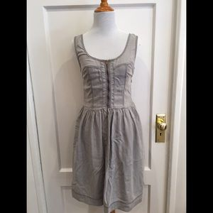 Burberry Brit Casual Zipper Dress US4